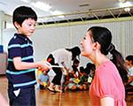 保育園での児童英語授業実習