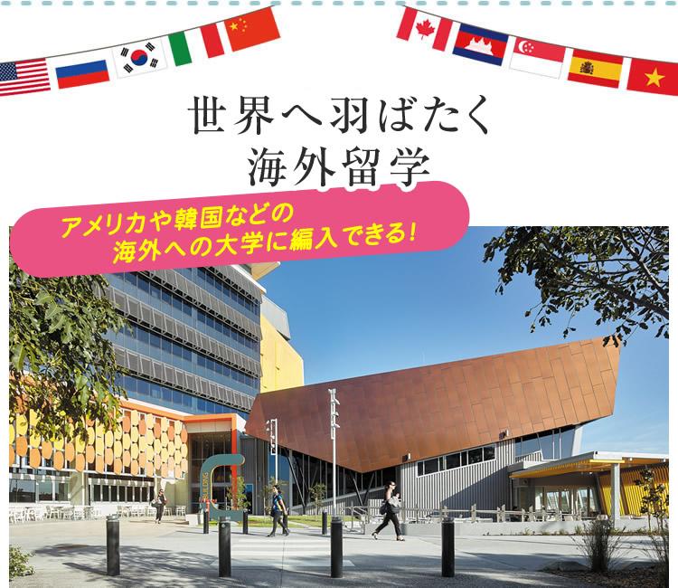 世界へ羽ばたく海外留学